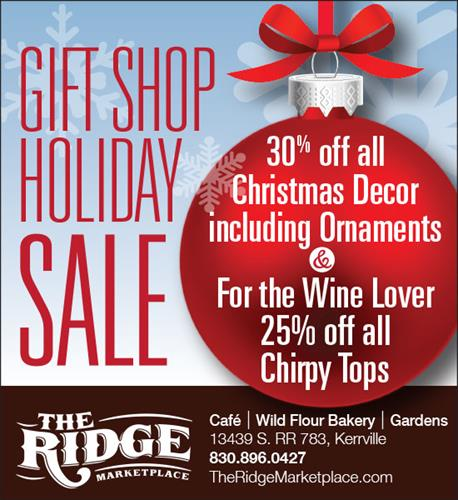 Print Ad - The Ridge Marketplace - Kerrville, TX #Print #GraphicDesign #Branding