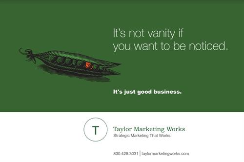 """Our View"" Print Ad - Taylor Marketing Works - #Print #Branding #WeGetYouNoticed"