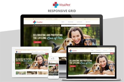 Website Design - VitalPet - 16 locations #Website #Design #Copywriting #Keywords #SEO