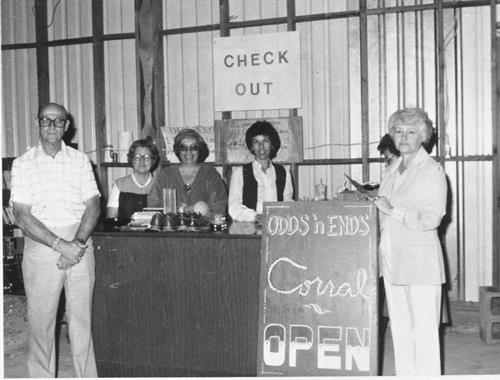 Dewey Livingston dedicating the store we used from 1979-1988