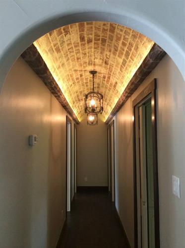 Hallway / Barrel Ceiling