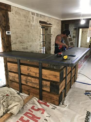 Welding / Check In Desk