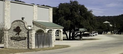 The Brune campus, located near Leakey on the beautiful Big Springs Ranch, extends along the banks of the Frio River with a ten-building complex. In addition to standard classrooms, facilities include a fully equipped science lab, a state of the art computer learning center with video streaming for distance learning, a music room, an art studio, a well-equipped home economics room, and a journalism and photography center.