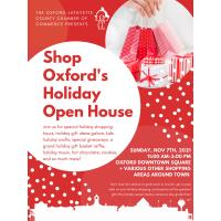Shop Oxford's Holiday Open House