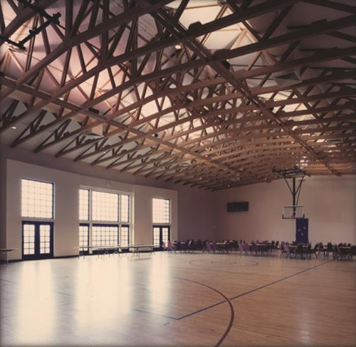 One of the Halls, for public use including basketball, weddings, conventions etc