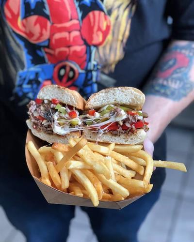 Butcher Philly Sandwich