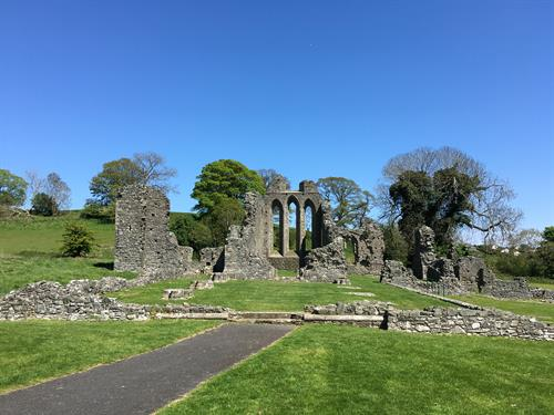 Inch Abbey, Northern Ireland