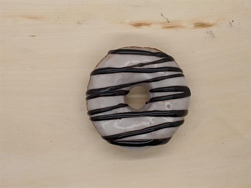 Zebra Donut