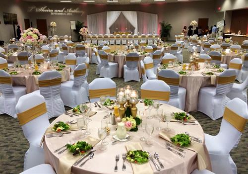 Wedding Receptions up to 350 guests