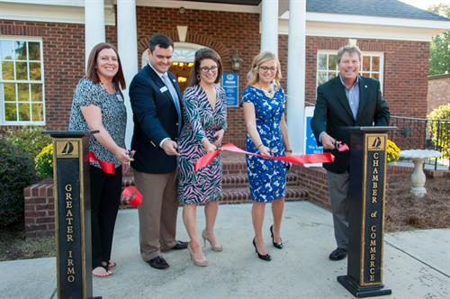 Thanks to the Irmo Chamber for our awesome grand opening celebration!