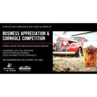 2021 - Business Appreciation & Cornhole Competition