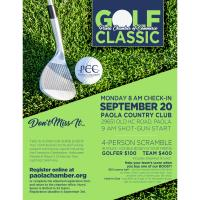 Paola Chamber of Commerce Annual Chamber Golf Classic
