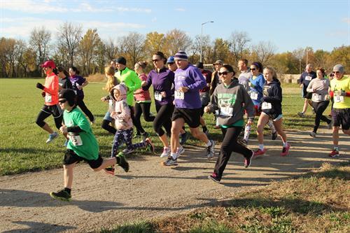 2015 Clover Run Start