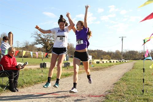 2015 Clover Run Finish