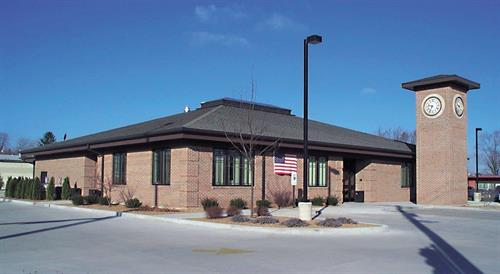 Our Mendota Branch located at the corner of Rt. 251 and Meriden St.