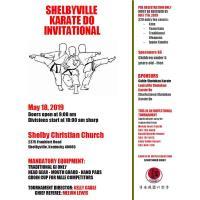 SHELBYVILLE KARATE DO INVITATIONAL