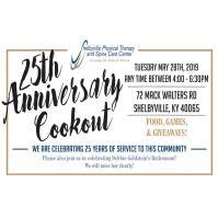 Shelbyville Physical Therapy 25th Anniversary Cookout