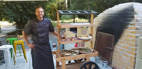 Chef and Owner, Chad Carlstedt