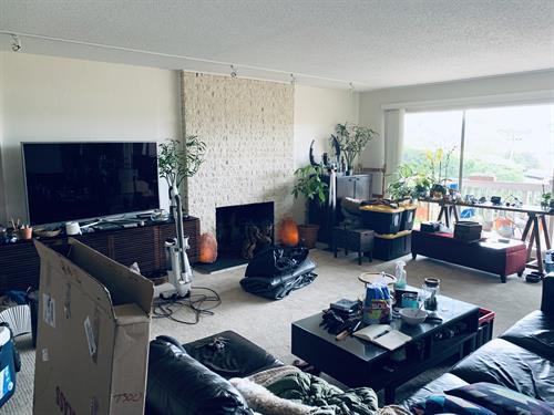 Before photo of Tiburon living room