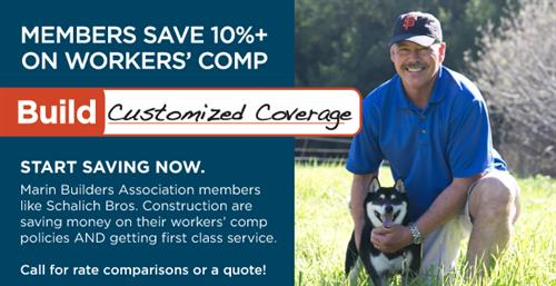 Save on Workers Comp Insurance with Marin Builders
