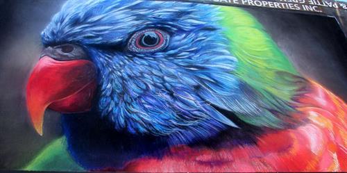 Parrot - Artists: Naomi Duben and Amy Madden, Photographer: Joy Phoenix