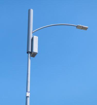 5G lamppost installation  - rent target $15,000