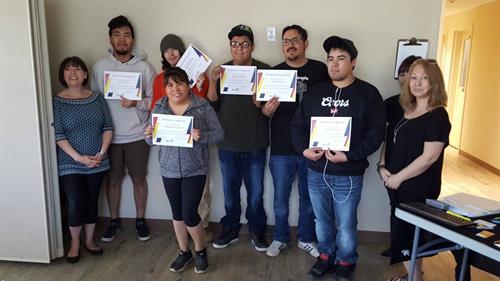 Graduation class of Junior Web Developers for Nenas / Treaty 8