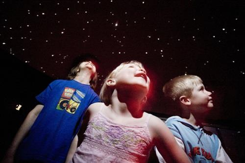 Central Texas's only public planetarium!