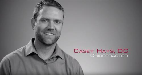 Dr. Casey Hays, DC