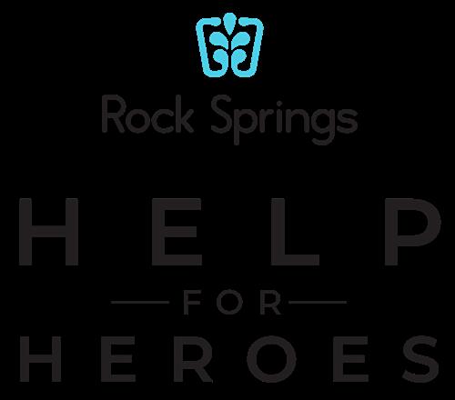 Rock Springs Help For Heroes logo
