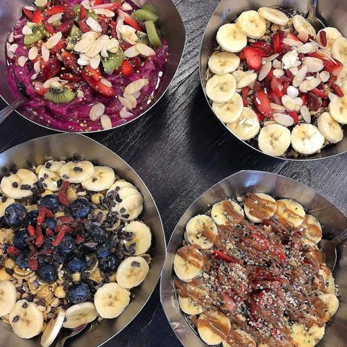 Our Acai Bowls- Dragon Bowl, Warrior Bowl, Superfood Bowl, Nutty Bowl
