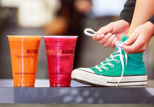 We offer fresh juices, no sugar/ ice added.