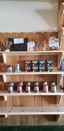 Dr. Vim's Holy Basil Tea, Tealicious Hemp Tea, and Buddha Tea Boxes
