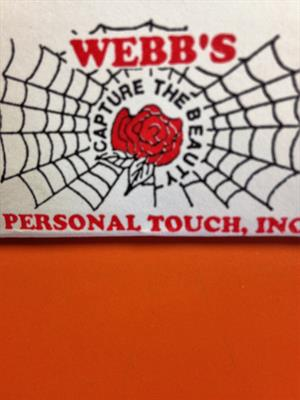 Webb's Personal Touch