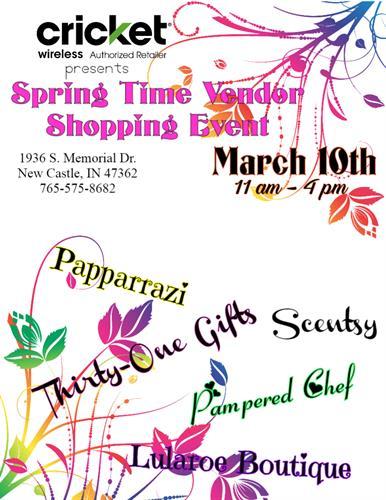 Vendor Event 3/10/18