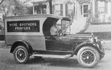 Circa 1910..... And we still deliver!
