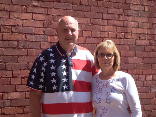 The owners of American Flags and Poles, Jim and Sylvi Caporale, have a passion for flags and for our local community.