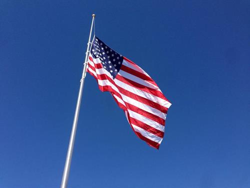 We ship our products all over this great nation, and install poles throughout the region.