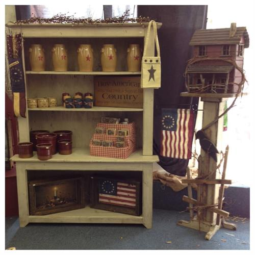 This display is just a taste of the items you will find in American Flags and Poles.