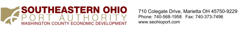 Southeastern Ohio Port Authority, Washington County Economic Development