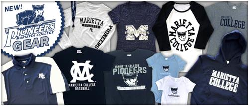Marietta College apparel & merchandise