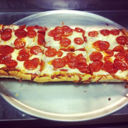 Half Sicilian Pizza