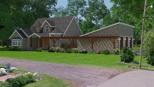 Handicap accessible home by Morgan Building Designs