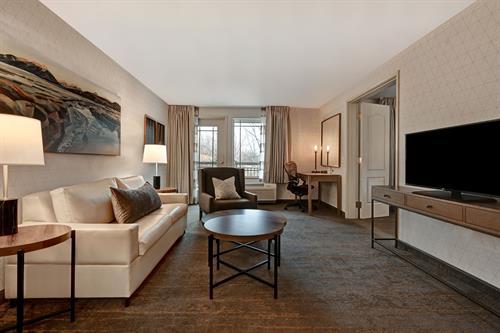 Corporate Suite Sitting Area