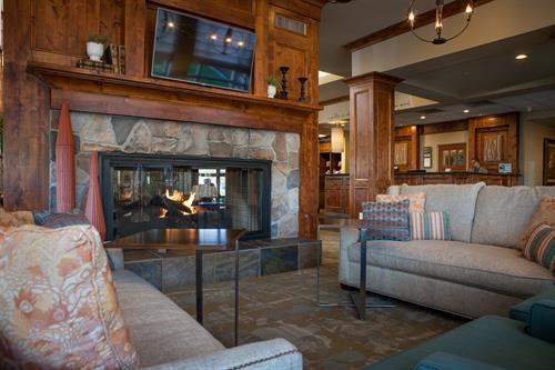 Lobby- Hilton Garden Inn Boise/Eagle