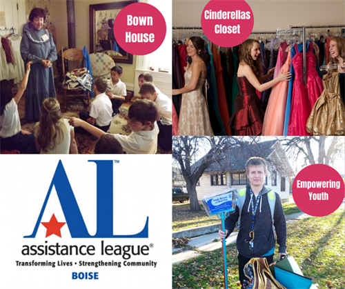 Nine Philanthropies supported by Assistance League of Boise