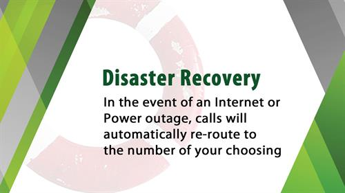 Do you have a plan in place if your phone system goes down? If not you may want to look into our Disaster Recovery feature.