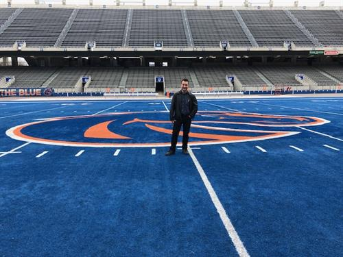 On the Blue Turf