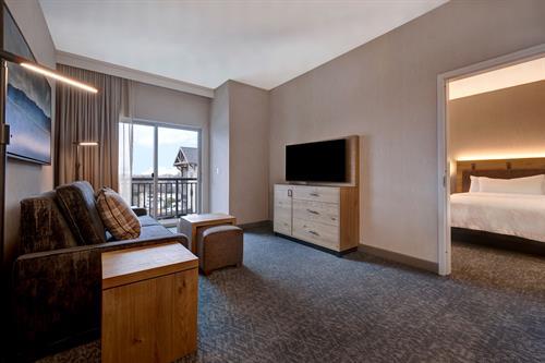 Double Queen One Bedroom Suite Sitting Area