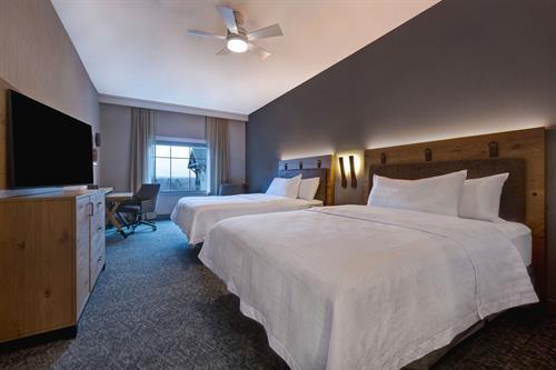 Double Queen One Bedroom Suite